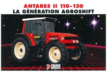 ANTARES II 110 - 130 La génération Agroshift