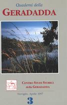 Quaderni della Geradadda - Centro Studi Storici della Geradadda - Volume 3, Banca di Credito Cooperativo di Treviglio e della Geradadda, 1997