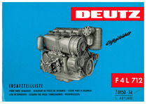 F4 L 712 - Ersatzteilliste / Spare parts catalogue / Catalogue de pièces de rechange / Listino parti di ricambio / Lista de repuestos / Catalogo das pecas sobressalentes / Reservdelslista