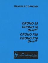 CRONO 55 TARGET - CRONO 70 TARGET - CRONO F 55 TARGET - CRONO F 70 TARGET - Manuale d'officina