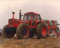 Trattore SAME Hercules 160 Export in aratura a Chieri (Torino)