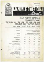 MOTORIi DA 1151-1152-1153-1154 - Manuale di officina