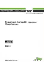 ESQUEMA DE LUBRICACION Y ENGRASE ECTRON 5530 H - Instrucciones de servicio