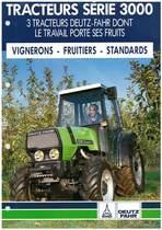 TRACTEURS SÉRIE 3000 - 3 TRACTEUR DEUTZ-FAHR DONT LE TRAVAIL PORTE SES FRUITS