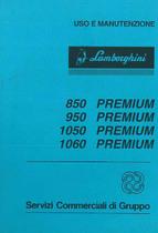 850 - 950 - 1050 -1060 PREMIUM - Libretto Uso & Manutenzione