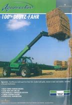 AGROVECTOR - 100% Deutz - Fahr