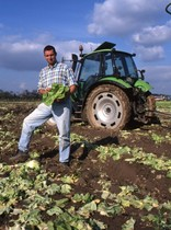[Deutz-Fahr] trattore Agrotron con rimorchio