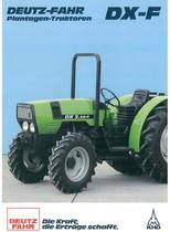 DX - F - DX 3.30 - 3.50 - 3.70 - 3.90 F Plantagen - Traktoren