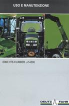 6060 HTS CLIMBER ->14500 - Uso e manutenzione