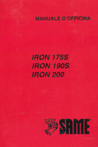 IRON 175 S - 190 S - 200 - Manuale d'officina