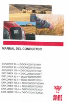 EXPLORER 90 ->ZKDCF40200TS10001 - EXPLORER 90 ->ZKDCH40200TS10001 - EXPLORER 100 ->ZKDCG20200TS10001 - EXPLORER 100 ->ZKDCJ20200TS10001 - EXPLORER 90.4 ->ZKDCF80200TS20001 - EXPLORER 90.4 ->ZKDCH80200TS20001 - EXPLORER 105.4 ->ZKDCG60200TS20001 - EXPLORER 105.4 ->ZKDCJ60200TS20001 - EXPLORER 115.4 ->ZKDCH00200TS20001 - EXPLORER 115.4 ->ZKDCK00200TS20001 - Manual del conductor