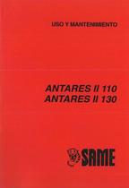ANTARES II 110 - 130 - Uso y mantenimiento