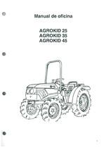 AGROKID 25-35-45 - Manual de oficina