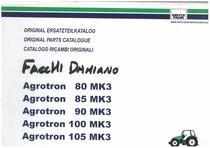 AGROTRON MK3 80-85-90-100-105 - Original Ersatzteilkatalog / Original parts catalogue / Catalogo ricambi originali