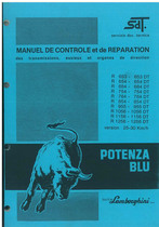 R 653 - 654-684-754-784-854-955-1056-1156-1256-DT - Manuel d'Atelier