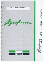 AGROFARM 85-85 GS-100-100 GS - Uso y Mantenimiento