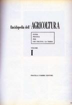 ENCICLOPEDIA DELL'AGRICOLTURA, Milano, Fratelli Fabbri Editori, 1965
