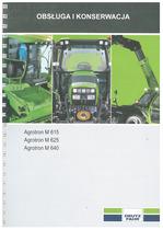 AGROTRON M 615-625-640 - Obsługa i Konserwacja