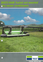 DEUTZ-FAHR Trailed and mounted disc mower conditioners