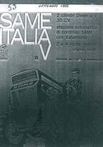 ITALIA a V - Libretto Uso & Manutenzione