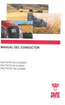 FRUTTETO³ 80.4 CLASSIC - FRUTTETO³ 90 CLASSIC - FRUTTETO³ 100 CLASSIC - Manual del conductor