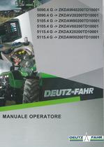 5090.4 G ->ZKDAW40200TD10001 - 5090.4 G ->ZKDAV20200TD10001 - 5105.4 G ->ZKDAW80200TD10001 - 5105.4 G ->ZKDAV60200TD10001 - 5115.4 G ->ZKDAX20200TD10001 - 5115.4 G ->ZKDAW00200TD10001 - Manuale operatore
