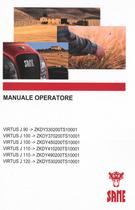 VIRTUS J 90 ->ZKDY330200TS10001 - VIRTUS J 100 ->ZKDY370200TS10001 - VIRTUS J 100 ->ZKDY450200TS10001 - VIRTUS J 110 ->ZKDY410200TS10001 - VIRTUS J 110 ->ZKDY490200TS10001 - VIRTUS J 120 ->ZKDY530200TS10001 - Manuale operatore