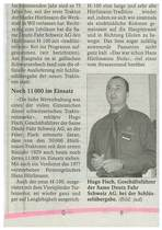 Hurllimann-Auslieferung wie zu fruheren Zeitung