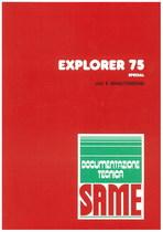 EXPLORER 75 SPECIAL - Libretto uso & manutenzione
