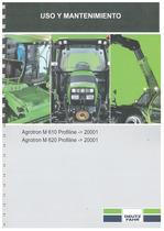 AGROTRON M 610-620 PROFILINE - Uso y Mantenimiento
