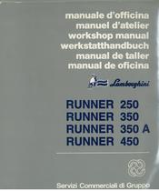 RUNNER 250 - 350 - 350 A - 450 - Manuale d'Officina