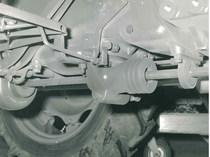 Trattore SAME Centauro - Particolare della trazione anteriore