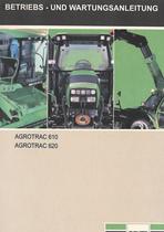 AGROTRAC 610 - AGROTRAC 620 - Betriebs - und Wartungsanleitung