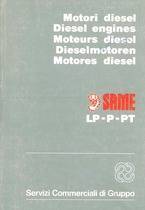 MOTORI DIESEL serie LP-P-PT - Libretto uso e manutenzione / Diesl Engines Operating and maintenance / Mo