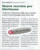 Nuovo marchio per Hurlimann