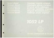 MOTORE 1052 LP - Catalogo Parti di Ricambio / Catalogue de pièces de rechange / Spare parts catalogue / Ersatzteilliste / Lista de repuestos / Catálogo peças originais