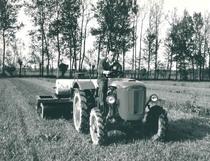 Trattore SAME Sametto V a 4 ruote motrici con rullo