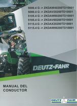 5090.4 G ->ZKDAW40200TD10001 - 5090.4 G ->ZKDAV20200TD10001 - 5105.4 G ->ZKDAW80200TD10001 - 5105.4 G ->ZKDAV60200TD10001 - 5115.4 G ->ZKDAX20200TD10001 - 5115.4 G ->ZKDAW00200TD10001 - Manual del conductor