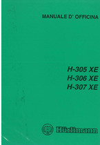 H 305 - 306 - 307 XE - Manuale d'officina