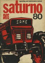 SATURNO 80 - Operating and maintenance