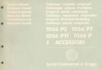 MOTORI 1056PS - 1056 PT - 1056 PTI - 1056 P Catalogo Parti di Ricambio / Spare parts catalogue / Catálogo peças originais