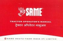 SAME 393 - 453 - 503 - 603 - Operating and maintenance