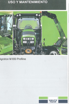 AGROTRON M 650 PROFILINE - Uso y mantenimiento