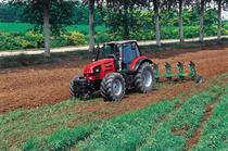 [SAME] trattori Rubin 200 al lavoro con erpice e ripuntatore, aratro reversibile e barra falciante