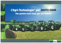 L' Agri - Technologie par Deutz- Fahr- Une gamme aussi large que vos attentes