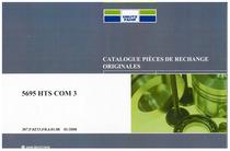 5695 HTS COM 3 - Catalogue de pièces de rechange
