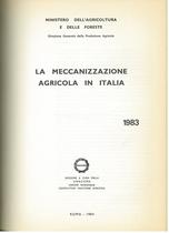 UTENTI MOTORI AGRICOLI (UMA), La meccanizzazione agricola in Italia, Roma, UMA Statistica, 1983