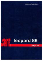 LEOPARD 85 EXPORT - Utilisation et entretien
