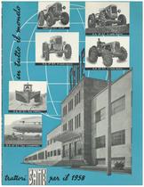 In tutto il mondo trattori SAME per il 1958