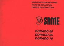 DORADO 60 - DORADO 65 - DORADO 70 - Workshop standard times / Temps de reparation / Tiempos de reparacion